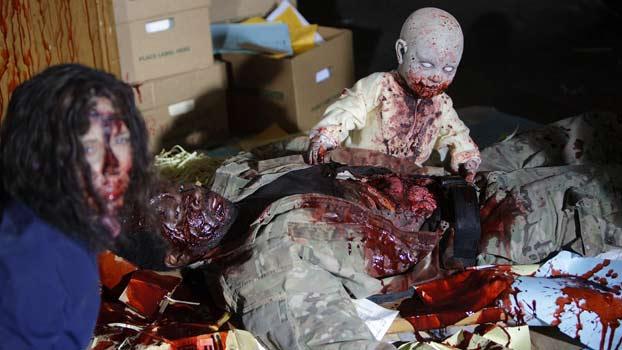 Se faire dévorer par un bébé zombie, c'est dans Z Nation.