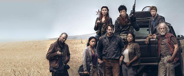 Le groupe qui doit escorter Murphy (à l'extrême gauche).