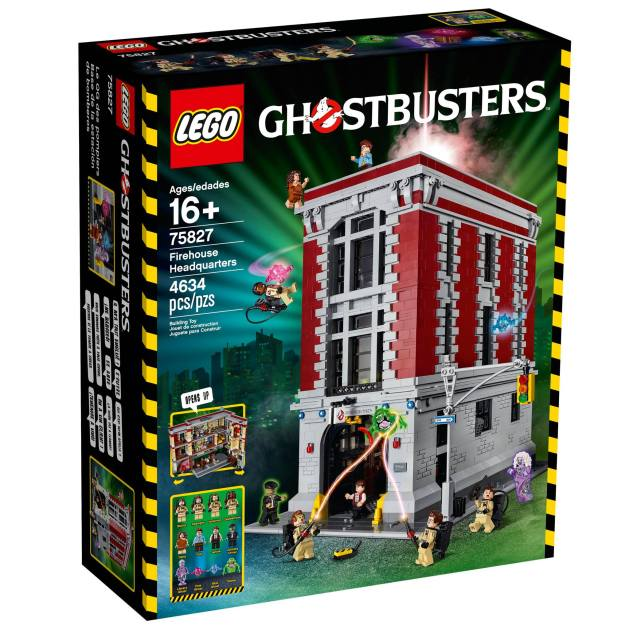 La boite 75827 Ghostbusters Firehouse Headquarters