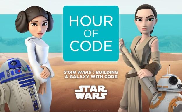 Hour of Code 2015 avec Star Wars