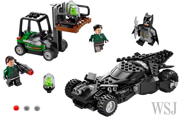 Contenu de la boite Kryptonite Interception (LEGO via Speakeasy)