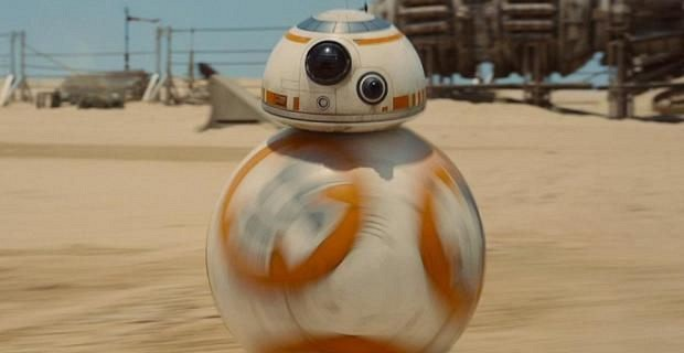 Star Wars, BB-8 sur Jakku
