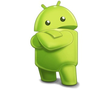 android robot post logo
