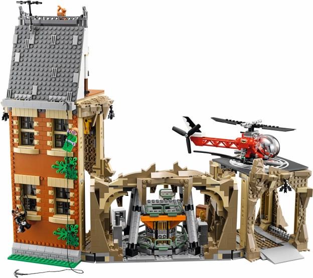 LEGO Batcave Classic 76052, la façade