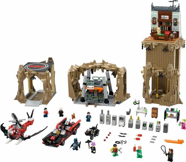 Le contenu de la boite Batcave Classic (76052) imposant, mais est-il intéressant ? (LEGO)