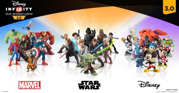 Avec Disney Infinity, Disney permettait de jouer dans tous les univers de la gamme.