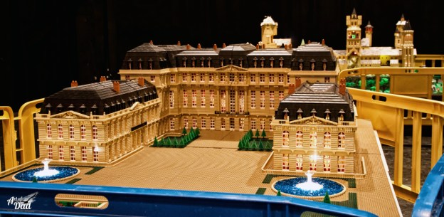 Le château de Saint Cloud à l'Expo 100% LEGO de Mennecy 2016 (D.Stankovski)