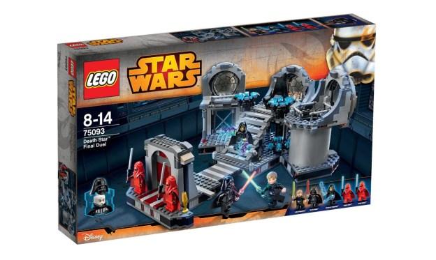 Visuel de la boite 75093, Duel finale de l'Étoile de la Mort (LEGO)