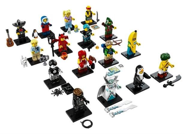 Les minifigurines de la série 16 (LEGO)