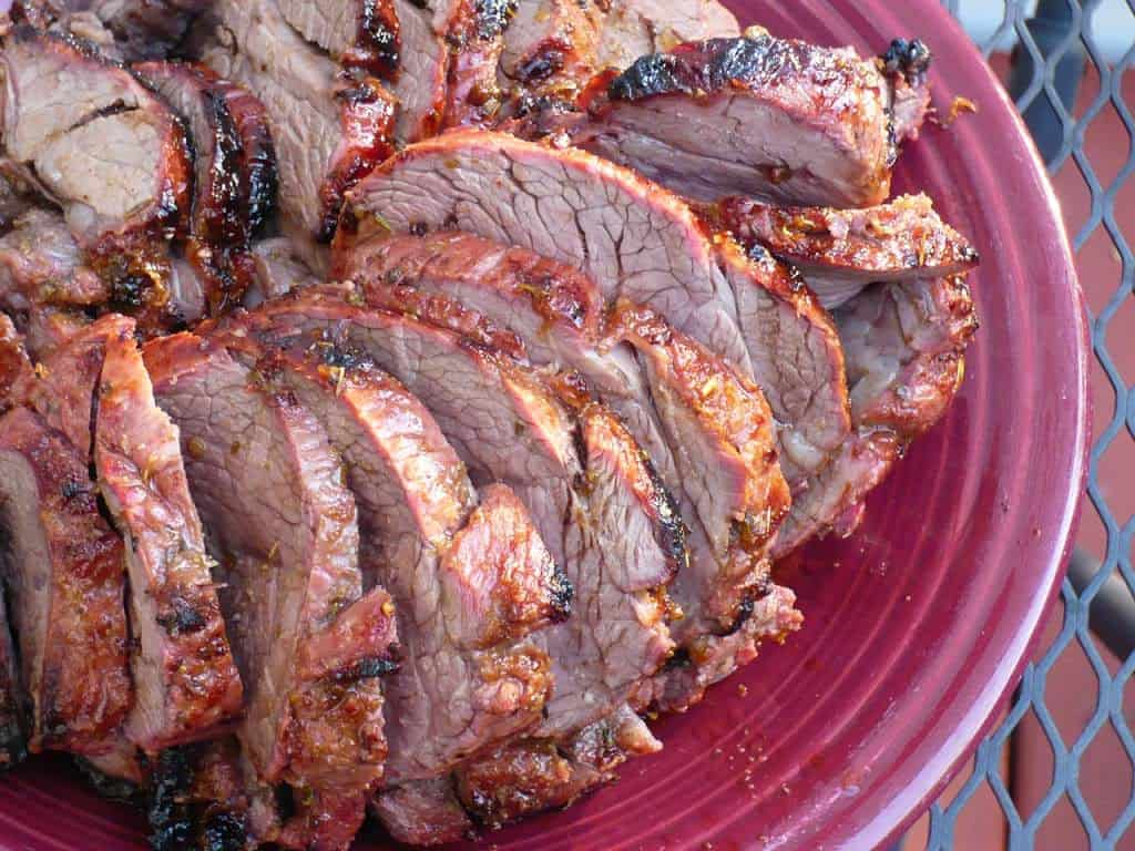 Rotisserie Boneless Leg of Lamb Roast with Greek Brinerade ... for Whole Lamb Grill  55dqh