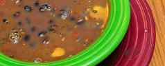Pressure Cooker Black Bean Soup