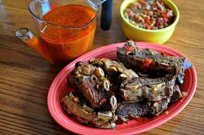 Pressure Cooker Short Ribs with Mexican Flavors