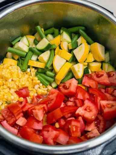 Pressure Cooker Mexican Pork Stew With Summer Vegetables | DadCooksDinner.com
