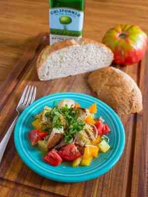 Grilled Bread and Tomato Salad (Panzanella)