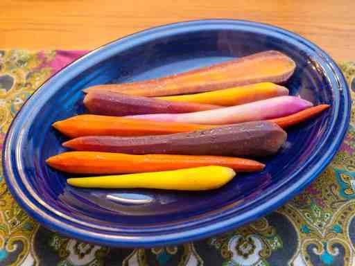 Sous Vide Carrots | DadCooksDinner.com