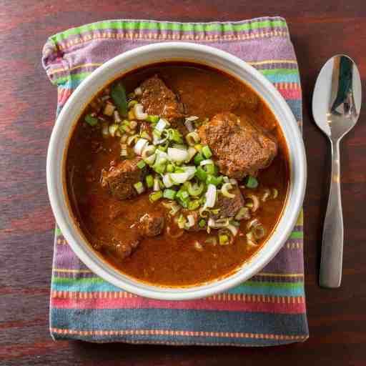 Pressure Cooker Texas Red Chili | DadCooksDinner.com