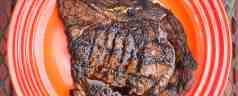 Grilled Ribeye Delmonico Steaks with Tex-Mex Rub