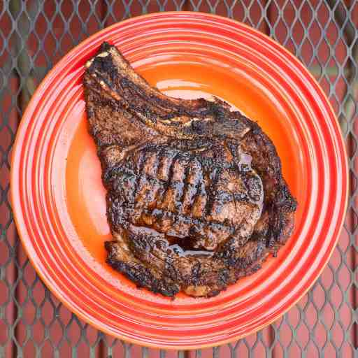 Grilled Ribeye Delmonico Steaks with Tex-Mex Rub | DadCooksDinner.com