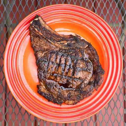 Grilled Ribeye Delmonico Steaks with Tex-Mex Rub | DadCooksDinner.com