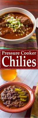 Pressure Cooker Chilies