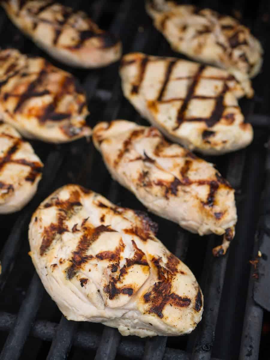 Grilled Boneless Chicken Breasts With Citrus Marinade Dadcooksdinner