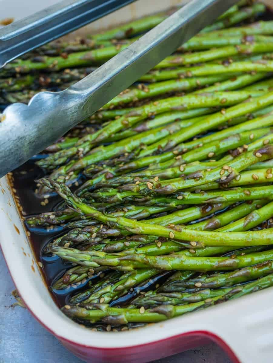 Also, Because Of The Teriyaki Sauce, The Asparagus Will Burn On The Grill If