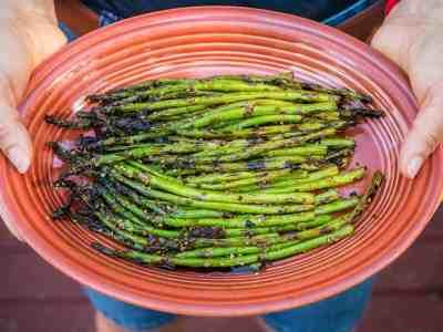 Grilled Teriyaki Asparagus | DadCooksDinner.com