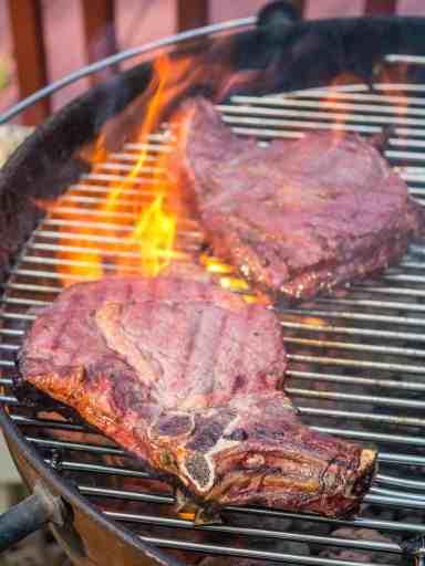 PicOfTheWeek: Steak Flareup