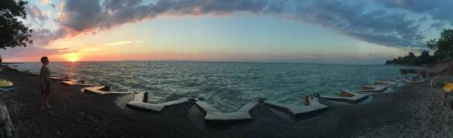 Sunset over Lake Erie 2016