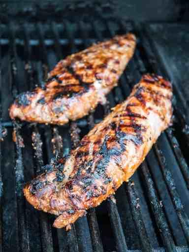 Grilled Teriyaki Pork Tenderloin | DadCooksDinner.com