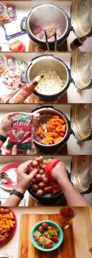 Pressure Cooker Pork and Cider Stew | DadCooksDinner.com