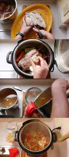 how to make broth from turkey carcass