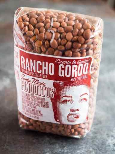 Pressure Cooker Santa Maria Pinquito Beans | DadCooksDinner.com