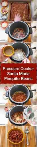 Pressure Cooker Santa Maria Pinquito Beans   DadCooksDinner.com