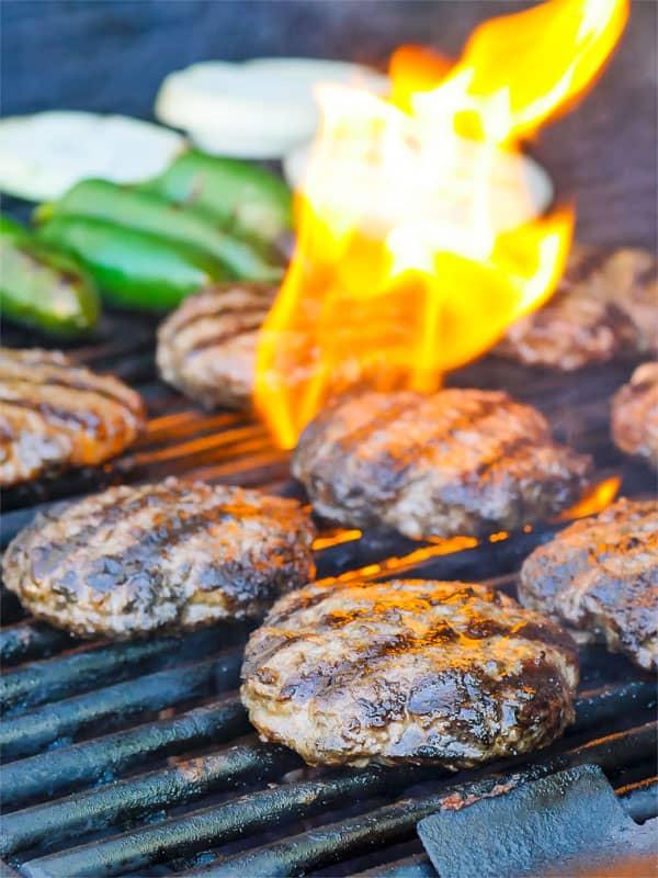 Burger Flareup | DadCooksDinner.com