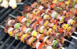 Grilled Beef Sirloin Kabobs