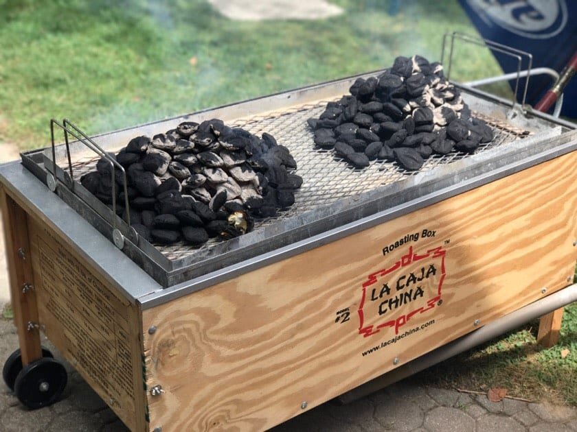 My brother's roasting box