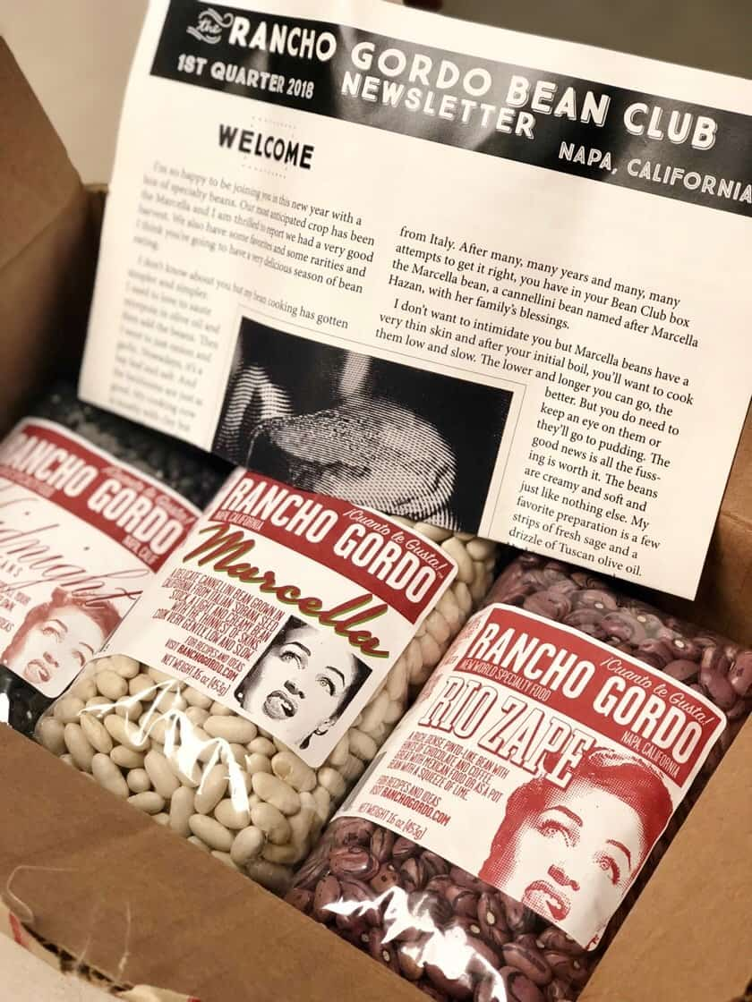 Rancho Gordo Bean Club Box | DadCooksDinner.com