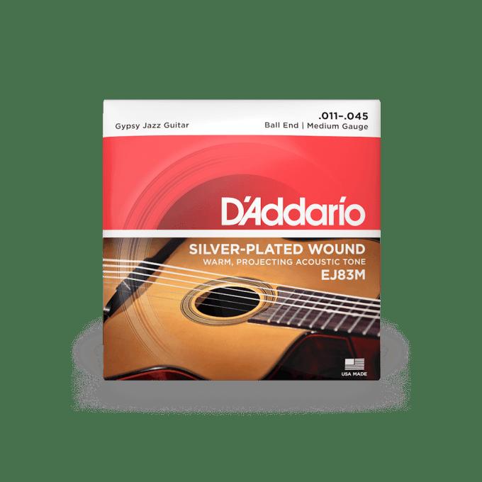 Ej83m Gypsy Jazz Acoustic Guitar Strings D Addario