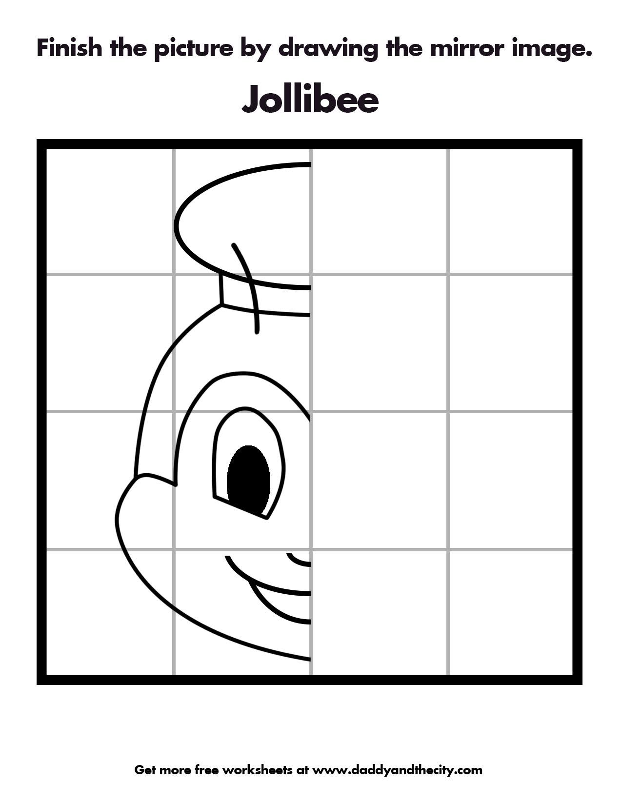 Draw Favorite Book Character Worksheet