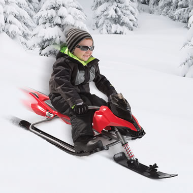 The Snowmobile Sled For Kids