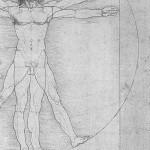 Uomo di Vitruvio di Leonardo da Vinci, ca. 1490