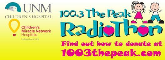 UNM Children's Hospital - 100.3 The Peak Radiothon
