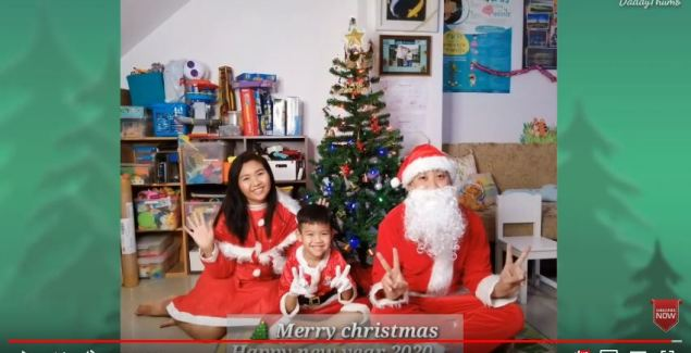 Merry christmas Happy new year 2020 by DaddyThumb