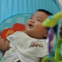 Impression pictures of a newborn child
