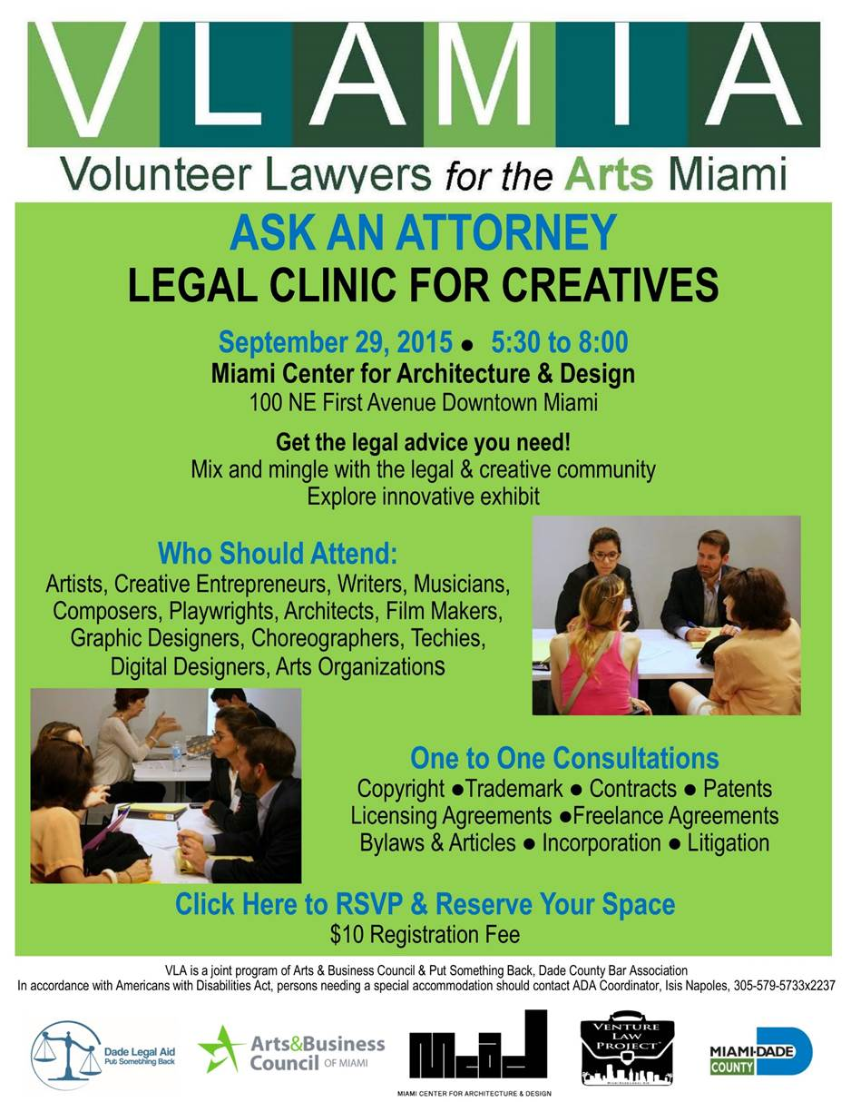 Legal Clinic for Creative Entrepreneurs