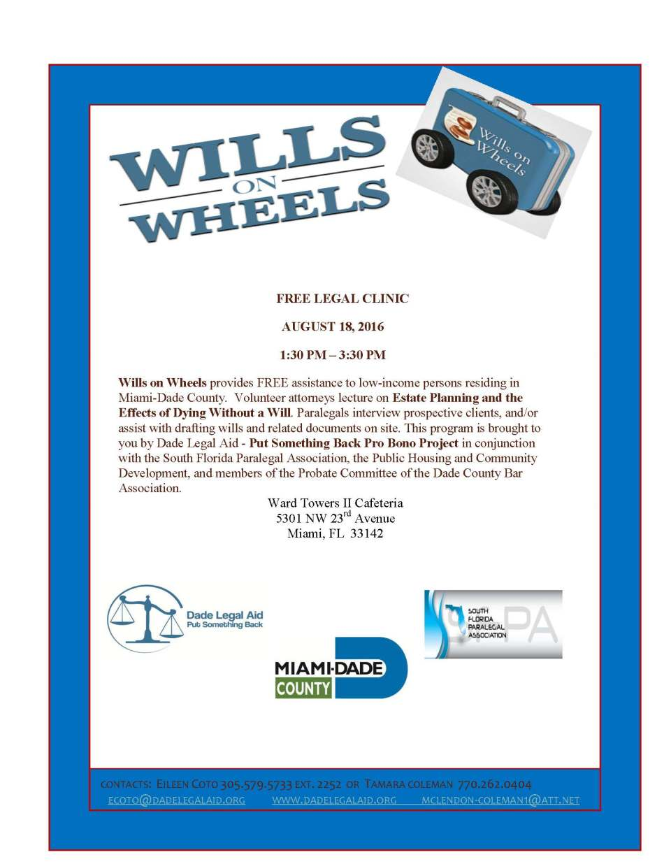 Wills on Wheels Flyer