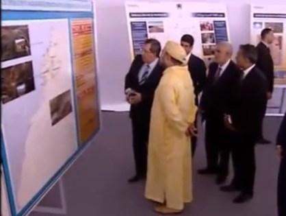 الملك محمد السادس يطلق إنجاز رابع محطّات مركّب «نور ورزازات»
