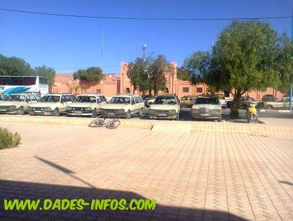 بومالن دادس: أرباب وسائقي سيارات الأجرة يحتجون
