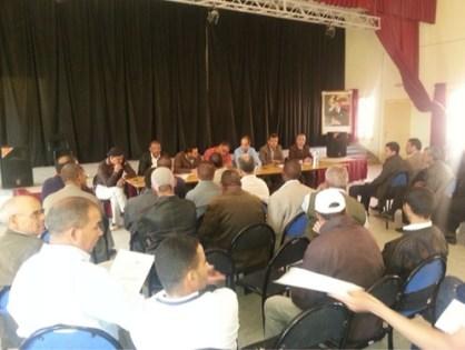 الاتحاد المغربي للشغل أوضاع تنغير متدهوة ومسؤولي السلطة والمنتخبين ليست لديهم رؤية تنموية